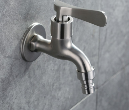 Wall Mounted Stainless Steel Brushed Nickel Sink Mop  ...