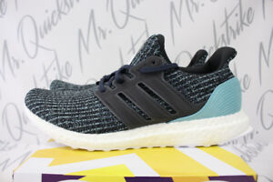 cheap for discount fe6e7 b8a27 Image is loading ADIDAS-ULTRABOOST-X-PARLEY-SZ-9-CARBON-BLUE-