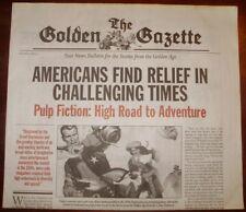THE GOLDEN GAZETTE Vol II Issue 1 © Galaxy Press L Ron Hubbard Scientology