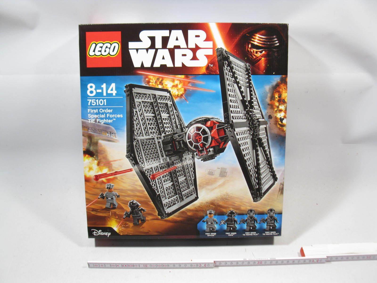 Lego Star Wars 75101 First Order Tie Fighter En parfait état, dans sa boîte dans neuf dans sa boîte l2005