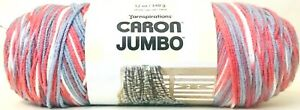 1-Count-Yarnspirations-12-Oz-Caron-Jumbo-09035-Blue-Plum-4-Medium-Acrylic-Yarn
