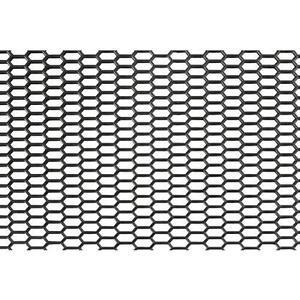GRIGLIA-AREAZIONE-ESAGONO-NERA-UNIVERSALE-120x40-cm-ESAGONO-FINE-O-LARGO