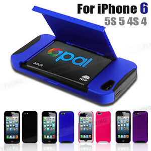 super popular fa520 86e22 Case For iPhone 6 5S 5 4S 4 Apple Credit Opal Card Train Ticket ...