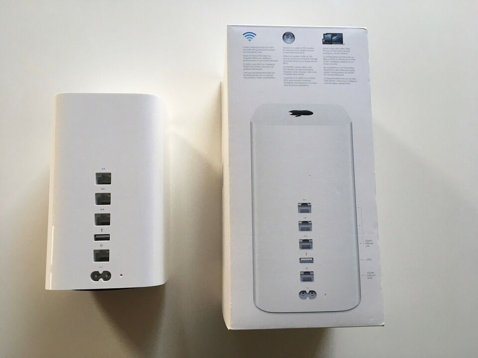 Router, wireless, Apple Airport Extreme