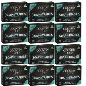 12 x Country Life Soap for Tradies 150g
