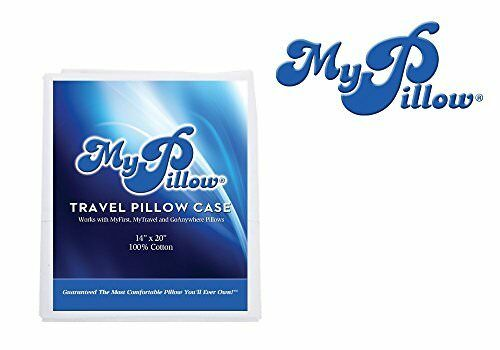 High Quality Travel Pillow Case 100/% Egyptian Giza Cotton NO SALES TAX FAST SHIP