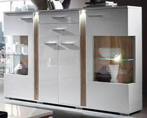 wohnzimmer vitrine, spot highboard anrichte kommode wohnzimmer vitrine | ebay, Design ideen
