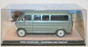FABBRI 1/43 scala del modello in metallo auto-Ford ECONOLINE-BOND-UNA CASCATA DI DIAMANTI