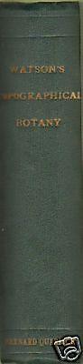 Watsons Topographical Botany .1883