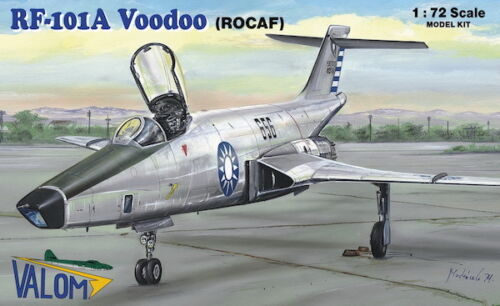 Rocaf Valom 1//72 Modell Bausatz 72115 Mcdonnell F-101a Voodoo