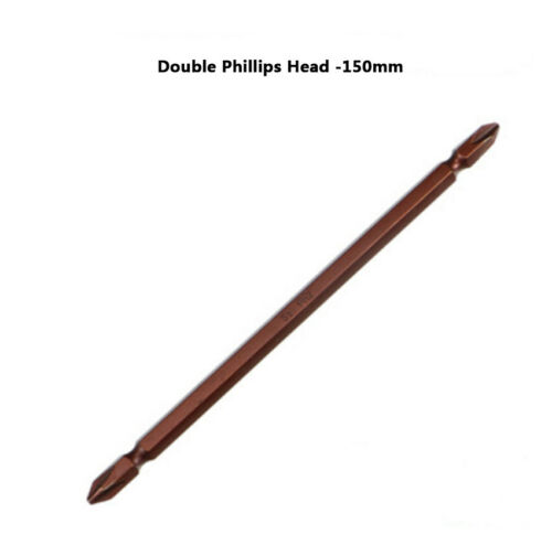 PH2 Double End Phillips Screwdriver Bit Drill High Hardness Durable Magnetic