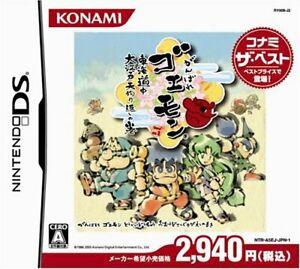 USED-DS-Ganbare-Goemon-Toukai-Douchuu-Konami-the-Best-Japan-Import