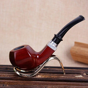 Creative New Red Sandalwood Pipe Smoking Gift Pipes Tobacco