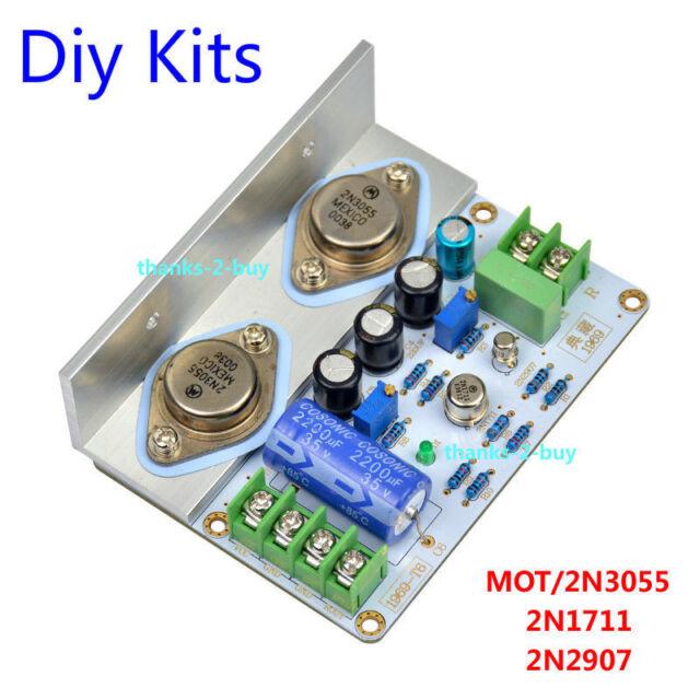 1969 Class a Power Amplifier HIFI Board High Quality MOT 2n3055 DIY