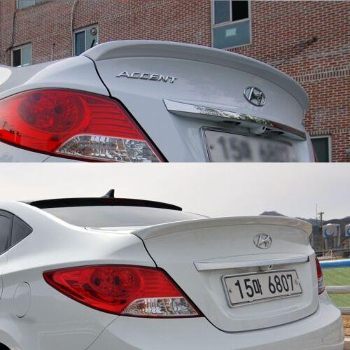 Onzigoo Rear Spoiler Painted Parts For Hyundai 2011 2015 Accent Solaris Verna