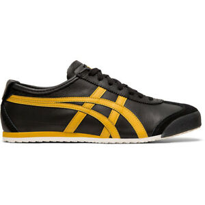 ASICS Onitsuka Tiger Mexico 66 Black/Honey Gold Unisex Sneakers 1183A201.001 NEW