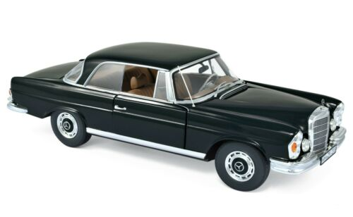 Mercedes 280 SE Coupe 1969 schwarz 1:18 Norev 183432 neu /& OVP
