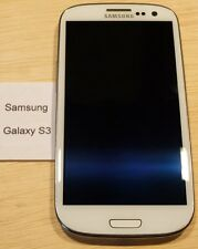 Samsung Galaxy S3 (SIII) - SCH-S968C -WHITE- STRAIGHT TALK - Very Good, Bad Chg