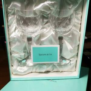 add9062bc14 Free postage. Image is loading New-Tiffany-amp-Co-Pair-wine-Glass-Tumbler-