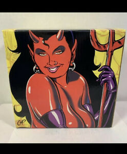 Simian Prod Barsom Limited Numbered Edition COOP Devil Girl Statue Figure Doll