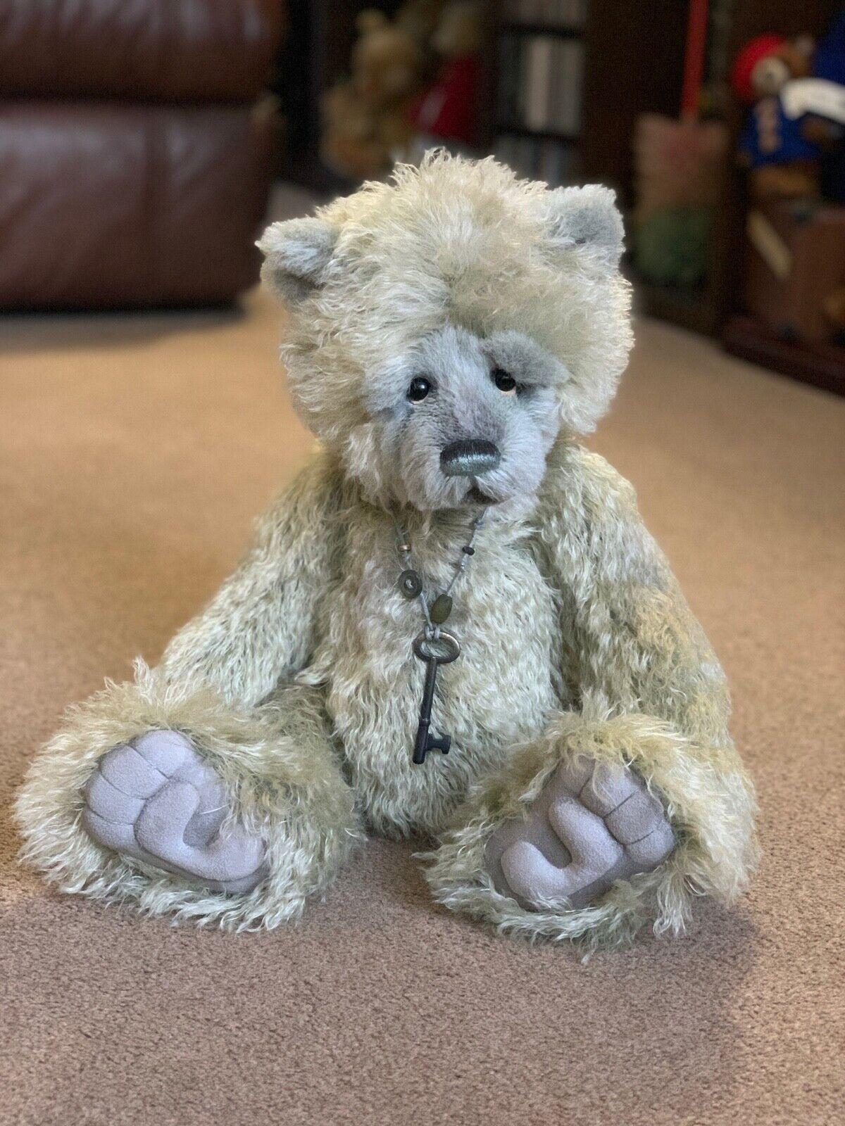Charlie Bears Mohair Ltd Ed FOOTPRINTS (SJ5357) 266 350 With Tags & Bag