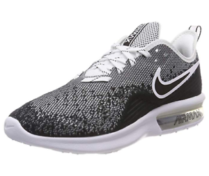Oreo Details Shoes Air Max about Sequent 4 Black Nike Running Mens Training n0k8OwP