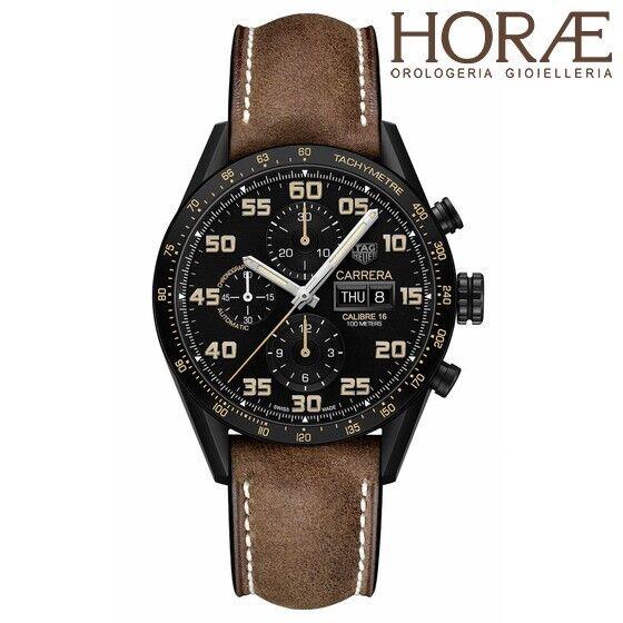 Tag Heuer Men's Carrera Calibre 16 Day-Date Chronograph Automatic titanium 43mm