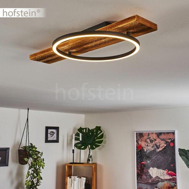 Flur Leuchten LED Decken Lampen Holz Ess Wohn Schlaf Zimmer Beleuchtung modern