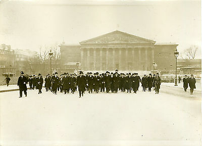 """inauguration Du Pont De La Concorde 1931"" Photo Originale G. Devred / Agce Rol 100% Original"