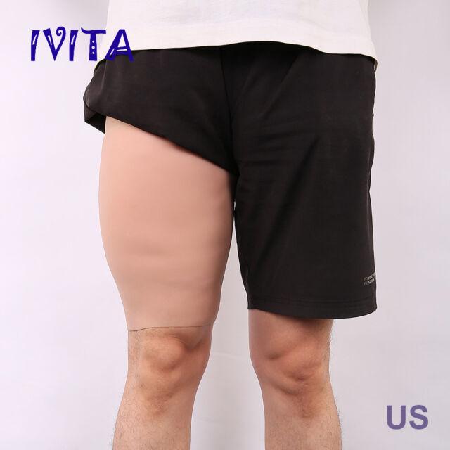 3cm Thickness Full Silicone Sturdy Thighs Enhancer Shaper Wear Legs Sheath Dress