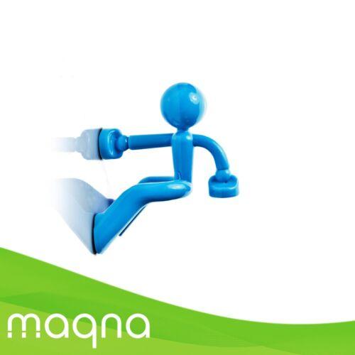 Schlüsselhalter Hangman mit 2 x Neodym Magnet Magnetmann Männle Keyholder farbig