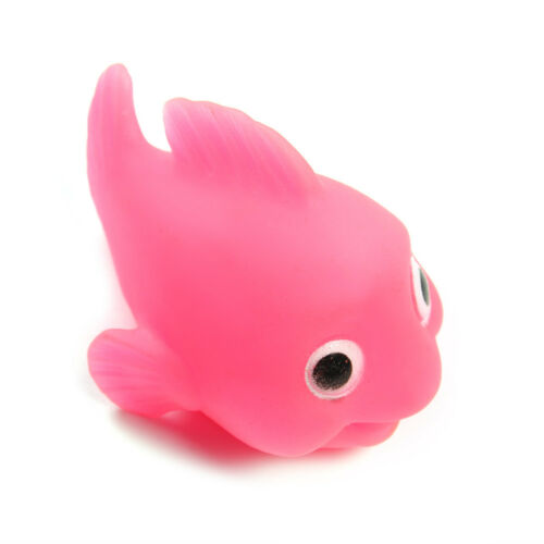 Creative Bathroom LED Light Fish Baby Kids Toys Water Induction Bath Time Fun