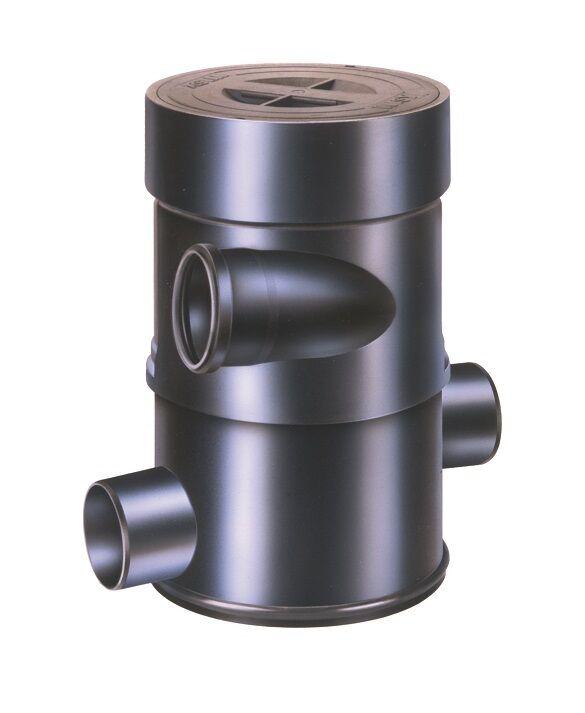 Wisy Wirbelfeinfilter WFF 100 mit Verlängerungsrohr,WFF100,Wisy,Wirbelfilter