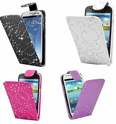 Bling Diamond Flip Leather Case Cover Pouch For Apple iPhone 6 6G 6S