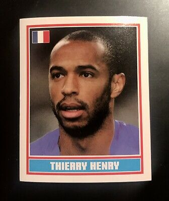 France Football World Cup 2006 Playing Card single Arsenal Thierry Henry