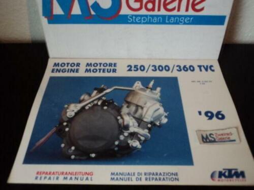 KTM 250 300 360 Motor Wartungsanleitung Manual Handbuch ...