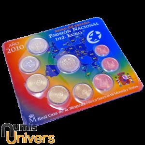 SÉRIE EURO BRILLANT UNIVERSEL (BU) - ESPAGNE 2010