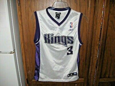 new product 633b9 7406d Shareef Abdur-Rahim Sacramento Kings NBA REEBOK RETRO JERSEY VTG YOUTH BOYS  SZ M | eBay