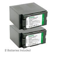2x Kastar Battery For Panasonic Cga-d54 Hdc-z10000 Nv-ds29 Nv-ds30 Nv-ds50
