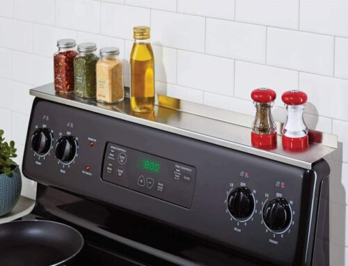 """StoveShelf 30/"""" Magnetic Shelf for Kitchen Stove QC REJECT Stainless Steel"""