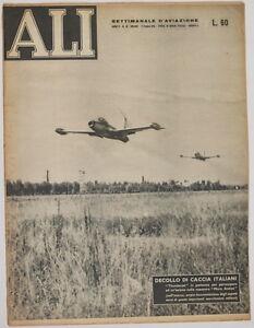 ALI-SETTIMANALE-AVIAZIONE-9-OTTOBRE-1952-PARACADUTISMO-VERONA-LISI-STARFIRE-VOLO