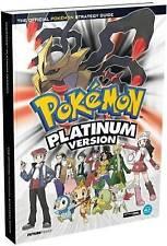 Pokemon Platinum Official Strategy Guide, Acceptable, Future Press, Book
