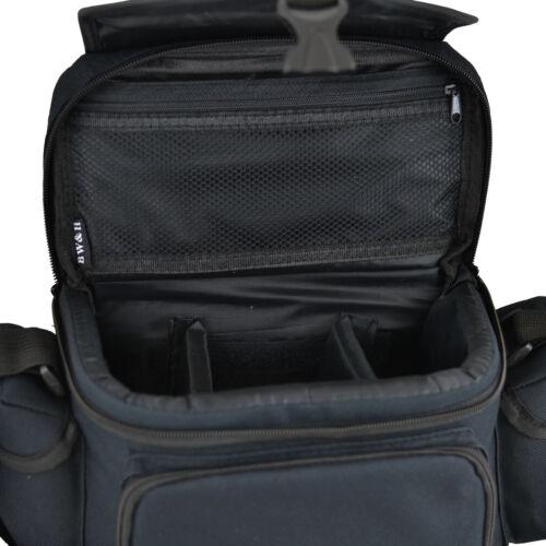 AAX Black DSLR Camera Case Shoulder Bag for Nikon D3300 D300S D5000 D700 D600