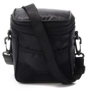 Black Outdoor Portable Digital Camera Case Shoulder Bag For Nikon Sony Camera UK