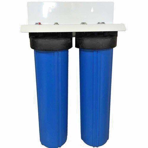 DUAL BIG bleu HOUSING WATER FILTERS TailleS 4.5  X 20  - 1  PR - Housings only