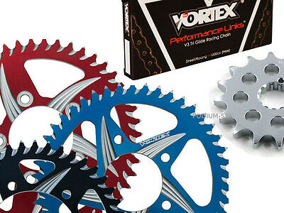 KAWASAKI 2011-13 ZX10R VORTEX 520 OEM CHAIN & CAT5 ALUMINUM SPROCKET KIT |  eBay