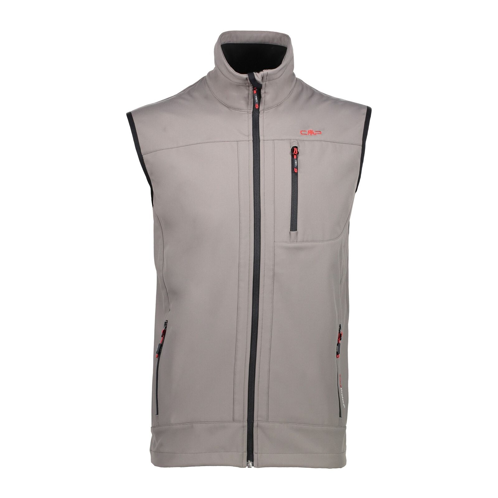 CMP Softshell Vest Waistcoat Man Vest braun Windproof Waterproof