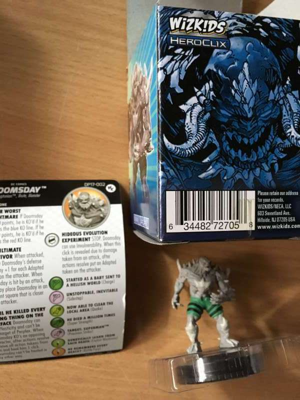 Doomsday  DP17-002 2017 Convention Exclusive DC Heroclix