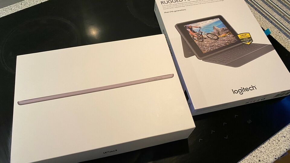 iPad, 32 GB, sort
