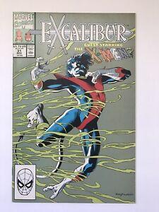 Excalibur-31-NM-1st-print-Marvel-Comics-x-men-House-Powers-of-X-Connection-1990